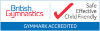 British Gymnastics GymMark Accredited